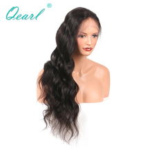 Peruvian Virgin Hair Lace Front Wigs For Black Women Wig Natural Remy Hair Pre-Plucked Hairline Baby Hair Front(China)