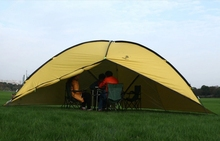 5-8 Person Big size outdoor camping tent, 480x480x480cm waterproof tent for camping, 4.6kg three side shelter