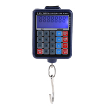 Electronic Weighing Scales Mini Digital Hanging Luggage Weight Scale Calculator 50kg/10g peso bilancia digitale di precisione(China)