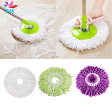 2017 New 360 Degree Microfiber Mops Head Home Clean Tools For Easy Spin Dust Absorbing may4_35(China)