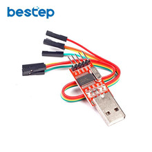 10PCS USB to TTL / USB-TTL / STC microcontroller programmer / PL2303 in nine upgrades plate with a transparent cover