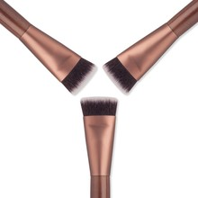 Hot Professional Beauty Cosmetic Flat Contour Brush Face Blusher Makeup Brush Powder Concealer Brushes Tools