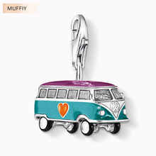 VW Bus Charm,TS Style Muffiy Club Good Jewelry For Women,2017 Ts Gift In 925 Sterling Silver Fit Bag Bracelet,Super Deals