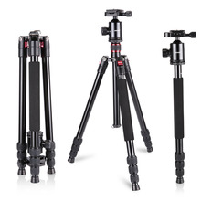 Neewer Aluminum Alloy 64 inches/162 cm Camera Travel Tripod Monopod with 360 Degree Ball Head,1/4 inch Quick Shoe Plate (China)