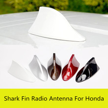 Colorful Original Car Paint Shark Fin Radio Antenna For Honda Civic CRV Accord Fit City Z2AAL125(China)
