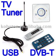 T Digital USB 2.0 DVB-T HDTV Tuner Recorder Receiver Software Radio DVB T Tuner HD TV with Antenna for Laptop tablet pc Notebook