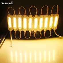 Tanbaby 20pcs/lot COB injection led 12V with lens Waterproof IP67 LED Module lighting Led Sign Backlights For Channel Letters
