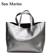 Super Deal! Luxury New Genuine Leather Bags Handbags Women Famous Brands Great Composite Bags Casual Purses And Handbag(China)