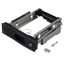 Seatay High Quality 3.5 inch HDD SATA Hot Swap Internal Enclosure Mobile Rack with Key Lock Hot Sale in stock!!!(China)