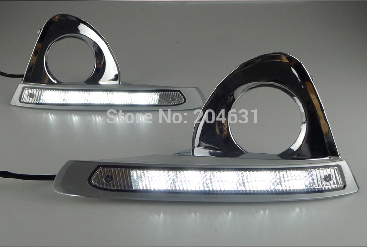 High Quality for 2013-14 Toyota Crown LED daytime running lights 100% waterproof LED car fog<br><br>Aliexpress