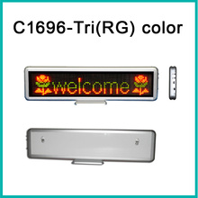 16x96matrix Led Desktop Display Tri(rg)color Dot Matrix Signs Indoor Moving Message Display Led Table Screen Indoorsign(China)