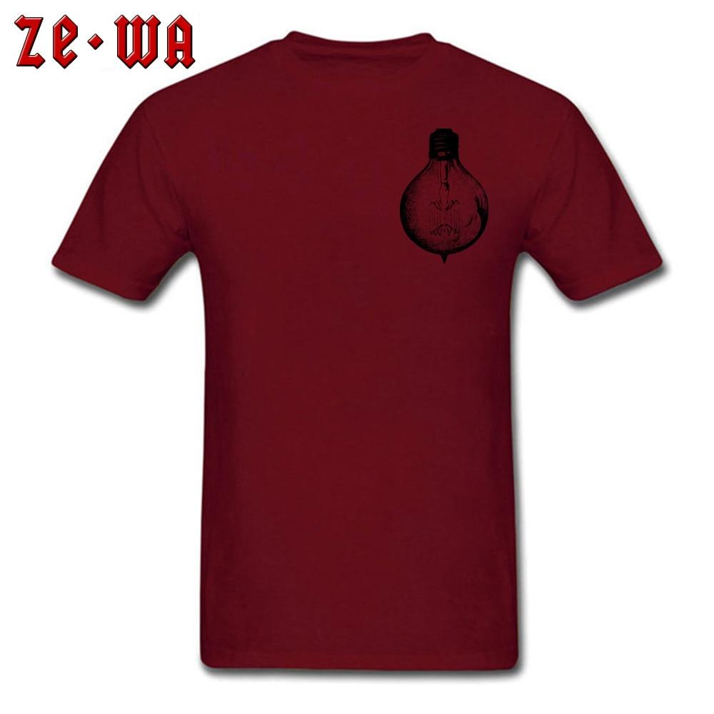 vintage light bulb 2417764_960_720 T Shirt for Men Printed On Summer/Fall Tops T Shirt New Design T Shirt O Neck Pure Cotton vintage light bulb 2417764_960_720 Chest maroon