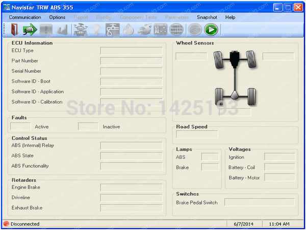 International TRW ABS 355 3.0.9<br><br>Aliexpress