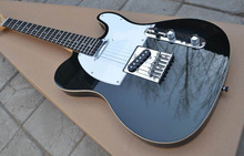 Factory custom shop Custom black telecaster Electric Guitar rosewood Fingerboard Free shipping