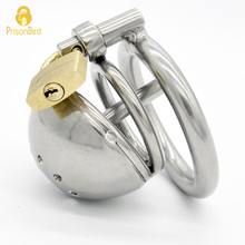 Buy Chaste Bird Stainless Steel Male Chastity Device Catheter,Cock Cage,Chastity Belt,Penis Ring,Virginity Lock,Cock Ring A127