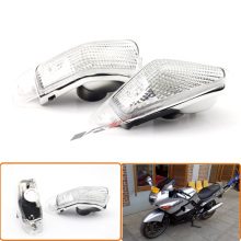 High Quality Turn Signals Indicator Light Blinker Lens Front For KAWASAKI ZZR 400 600 ZX600E 1994-2004 Clear