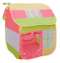 Baby Foldable Tents Pink Play House for Camping Kids Ball Pit Outdoor Toys