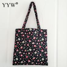 High-Quality Women Men Handbags Canvas Tote bags Reusable Cotton grocery Shopping Bag Webshop Eco Foldable Shopping Cart Trolley