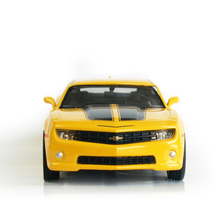 RMZ City 1:32 Alloy Pull Back Chevrolet Bumblebee Model Simulation Of Children's Toy Car Original Authorized Authentic Kids Toys