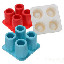 ONLY Bar Party Drink Ice Tray Cool Brain Shape Ice Cube Freeze Mold Ice Maker Mould Shooters Supplies Shot Glasses