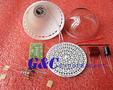 5PCS 60 LEDs Energy-Saving Lamps Suite without LED DIY Kits