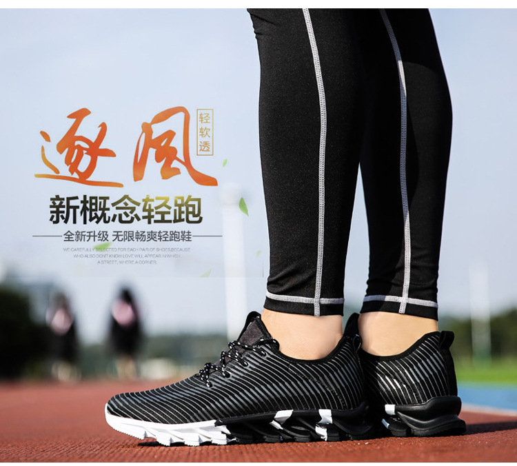 17New Hot Light Running Shoes For Men Breathable Outdoor Sport Shoes Summer Cushioning Male Shockproof Sole Athletic Sneakers 23