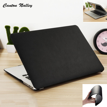Canton Nalley PU Leather Case For Apple mac book Air 11.6 12 13.3 Pro Retina 13 15 laptop bag For Macbook pro 13 with Touch bar