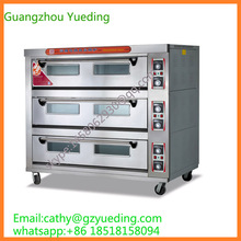 Commercial baking equipment stainless steel electric 9-tray oven for bakery(China)