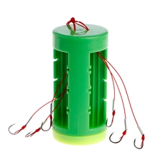 New Fishing Hanging Explosion Hooks Bait Holder Fishhooks Tackle Set Accessories Color Random delivery(China)