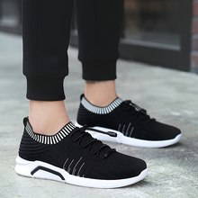 Hot 2018 Lightweight Casual Fashion Famous Brand Lace-up Style Shoes  Comfortable Casual Style Men Adult Footwear 5 4c3f278a8065
