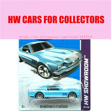 2013 New Hot 1:64 Cars wheels 69 mustang 2+2 fastback car Models Metal Diecast Car Collection Kids Toys Vehicle  Juguetes