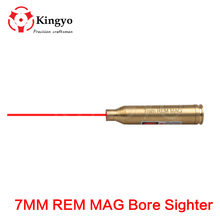 7mm REM MAG Red Dot Laser Bore Sight Boresighter Brass 7mm REM Hunting Boresight(China)
