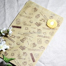 Brown Kraft paper bags, Food Bags, Gift Wrapping bags 100pcs/lot