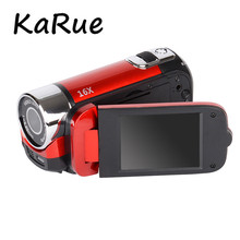 KaRue HDV-100 5MP CMOS Video Camcorder HD 720P Digital Video Camera DVR 2.7 Inch Screen 16 times Digital Zoom 16MP(China)