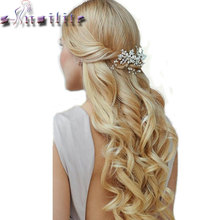 S-noilite 20 inches 7 Pieces/Set Full Head Weft Curly Clip in Hair Extensions Real Thick For Women Synthetic Hairpieces