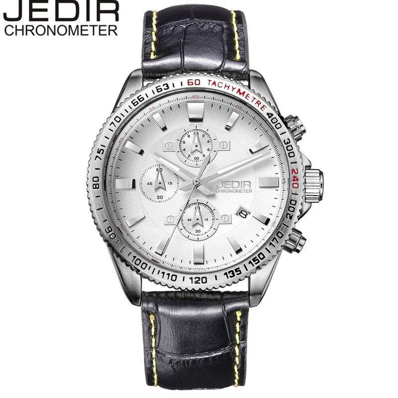 JEDIR Casual Mens Orologio Relogio Masculino Mult-function Quartz Watch Sport Wristwatch Gift Box Free Ship<br><br>Aliexpress