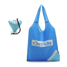 Custom Foldable bags Nylon Foldable Shopping Bags Grocery Totes Travel bags