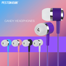 High Quality Cheapest Earphones 3.5mm Rainbow cute Headphones with ears Stereo Music Heavy Bass Earbuds For Mobile Phone MP3 Ps4