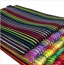 20pcs Colorful Zipper File Bag Book Holder Stripe Gridding Transparent Student Gift Stationery School and Office Supplies 30926