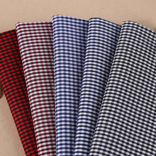 Keqiao manufacturers selling cotton stretch yarn dyed I 2016 spring and summer men and women plaid shirt fabric spot