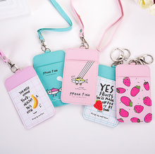 16Desgins ALL NEW Watermelon Etc. Fruits Card BAG , 11*6.5CM Cards Holder BAG , PU ID , BUS Cards Pouch Case BAG