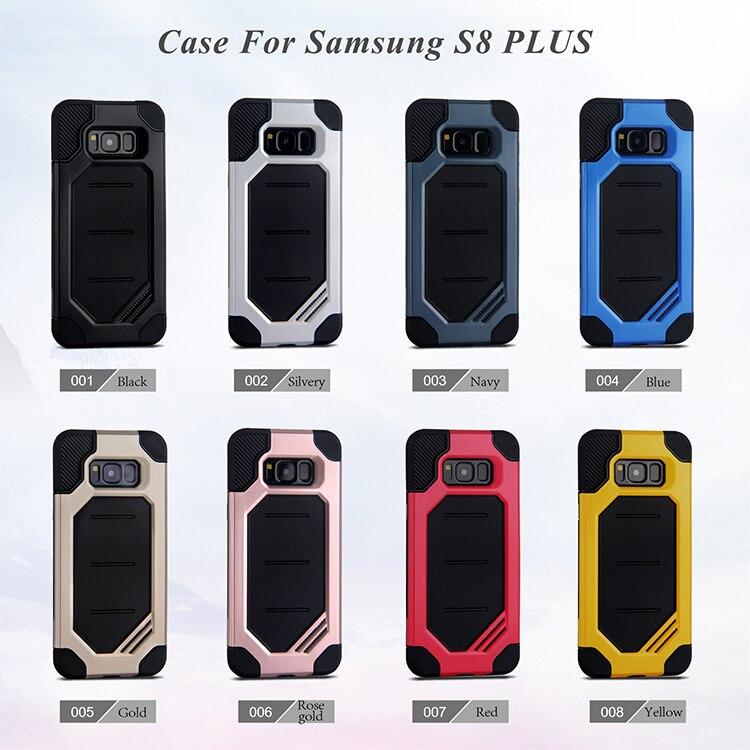 Samsung Galaxy S8 Plus Carcasa Alta Resistencia Fuerte A Prueba De Golpes Soporte Duro casos