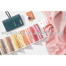 2016 New portable cotton color booklet contains PANTONE Cotton Passport FHIC200(China)