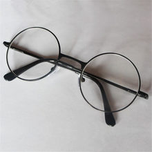 Reading Glasses Retro Men Women Round Mirror For Harry Potter Metal Frame Glasses Plain Mirror Personalized + 100...+400