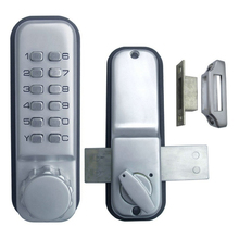 Keyless Mechanical Door Locks Digital Keypad Password Machinery Code Waterproof Interior Furniture Hardware for School Dormitory(China)