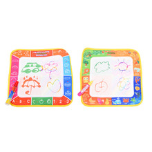29 * 29 cm Toys Water Drawing Mat Board Painting and Writing Doodle With Magic Pen Non-toxic Drawing Board for Baby Toys