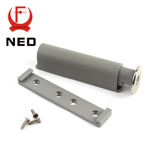 NED 15Set/Lot Gray Kitchen Cabinet Buffer Door Stop Drawer Soft Quiet Closer New Push To Open System Damper Buffers With Screws