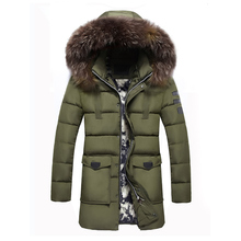 Buy Hot 2017 Men's Clothing Winter Casual Solid Color Detachable Hooded Long Jackets Coats Warm Jackets Zipper Coat 4XL for $34.28 in AliExpress store