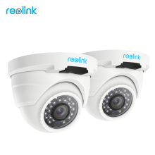Reolink PoE IP Camera HD 4MP Outdoor Indoor Weatherproof Dome 1440P Home Video Surveillance IR Cam RLC-420-2 (2 pack)(China)
