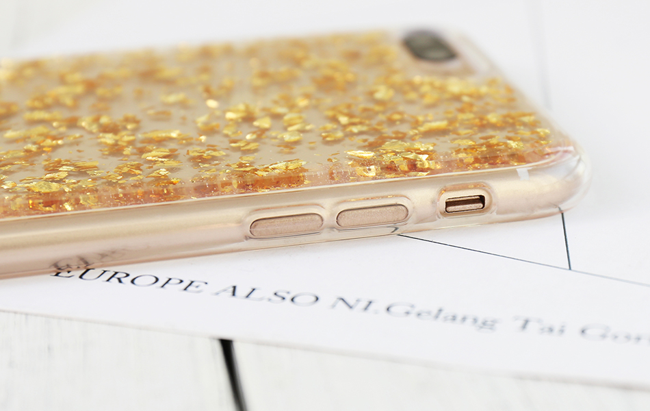 DOEES For iPhone 7 6 6S Plus 5 5S SE Case Luxury Cute Glitter Clear Case For Samsung Galaxy S8 Plus S7 S6 Edge S5 Note 7 5 Back Cover (22)